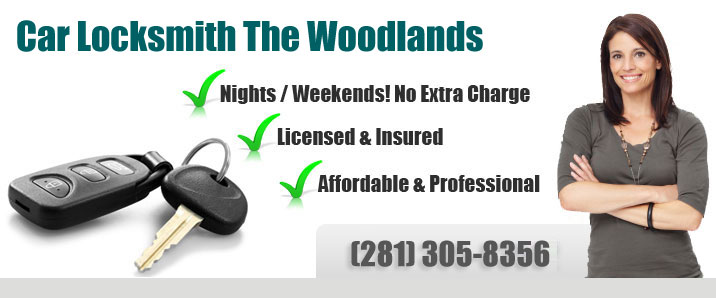 Car Locksmith The Woodlands Banner